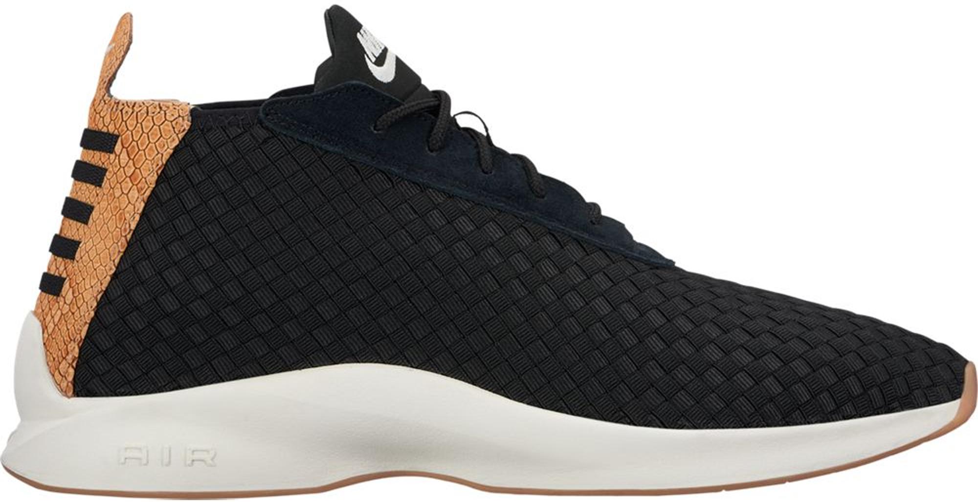 Nike Air Woven Boot Black Dark Russet