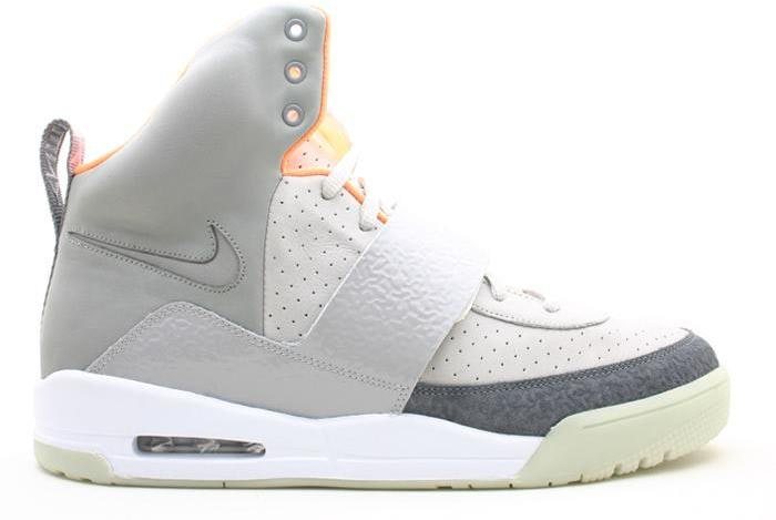 Air Yeezy Blue Silver White shoes