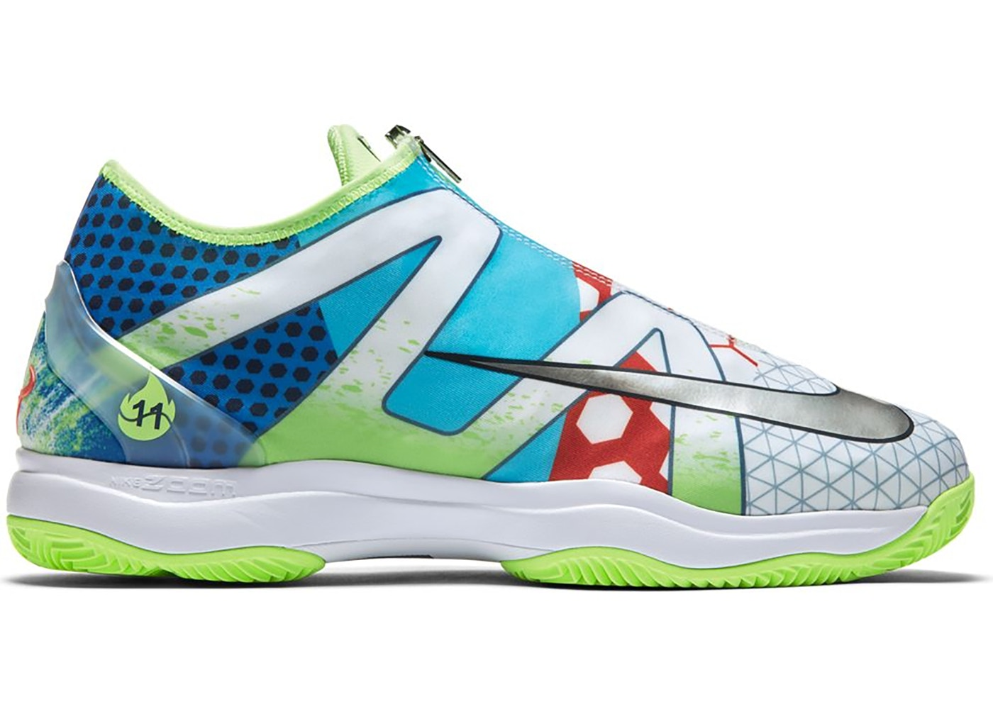 chaussures nike air zoom cage 3