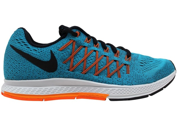 950424dcdc8f Nike Air Zoom Pegasus 32 Blue Lagoon Black-Bright Citrus-Total Orange -  749340-400