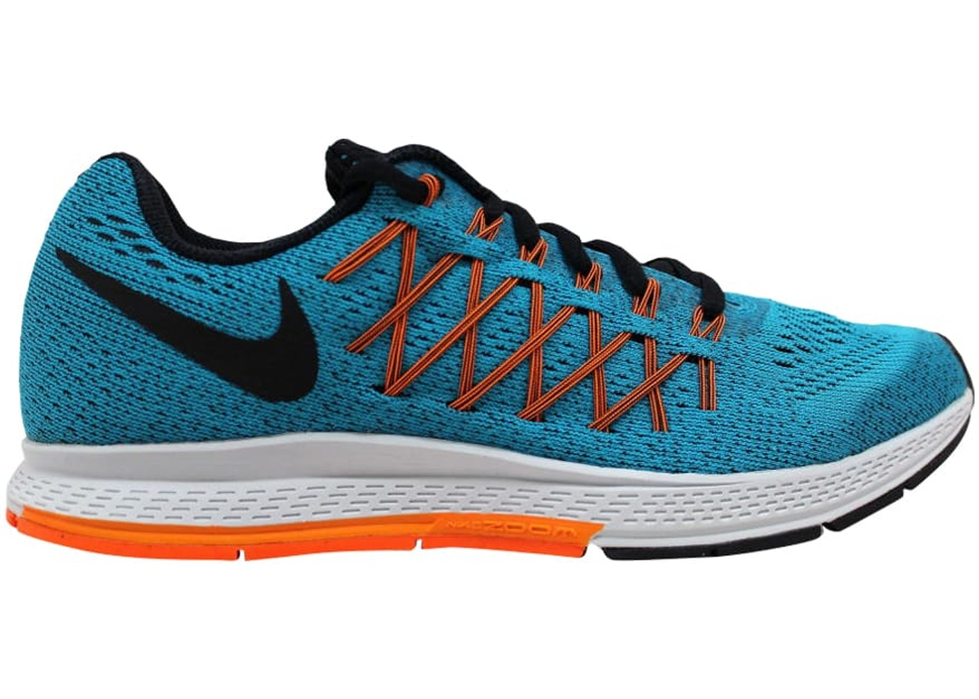 d316ca1685d7 Nike Air Zoom Pegasus 32 Blue Lagoon Black-Bright Citrus-Total Orange