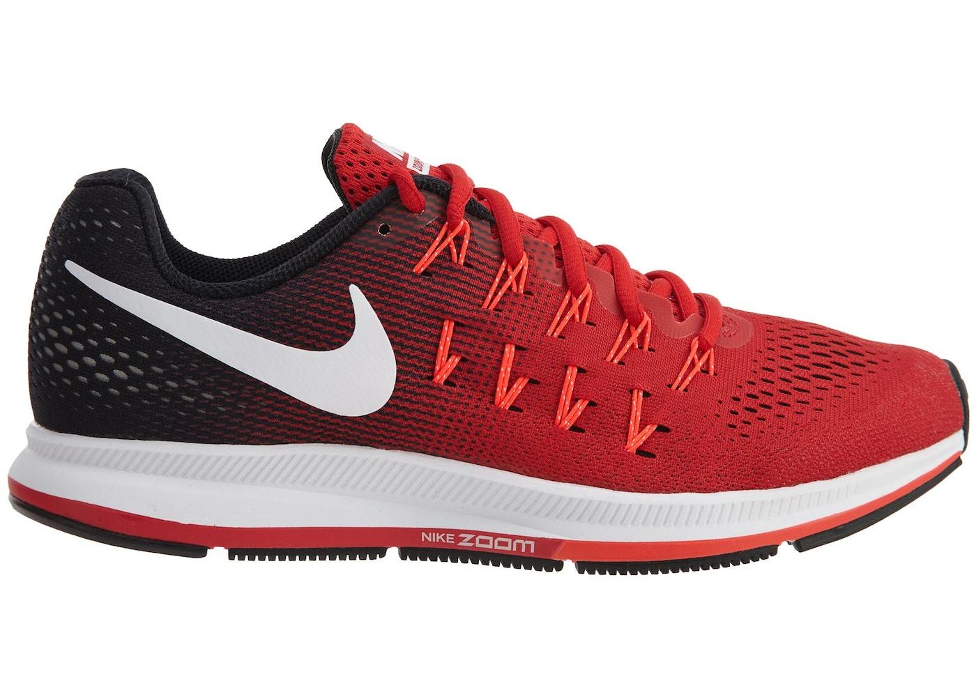 pretty nice 0fbd4 73af8 Nike Air Zoom Pegasus 33 University Red White-Black - 831352-601