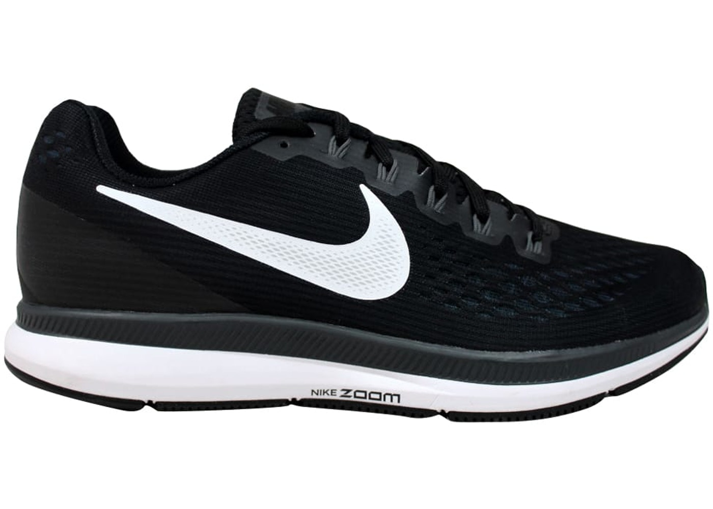 promo code 61527 66c7c Nike Air Zoom Pegasus 34 Black/White-Dark Grey