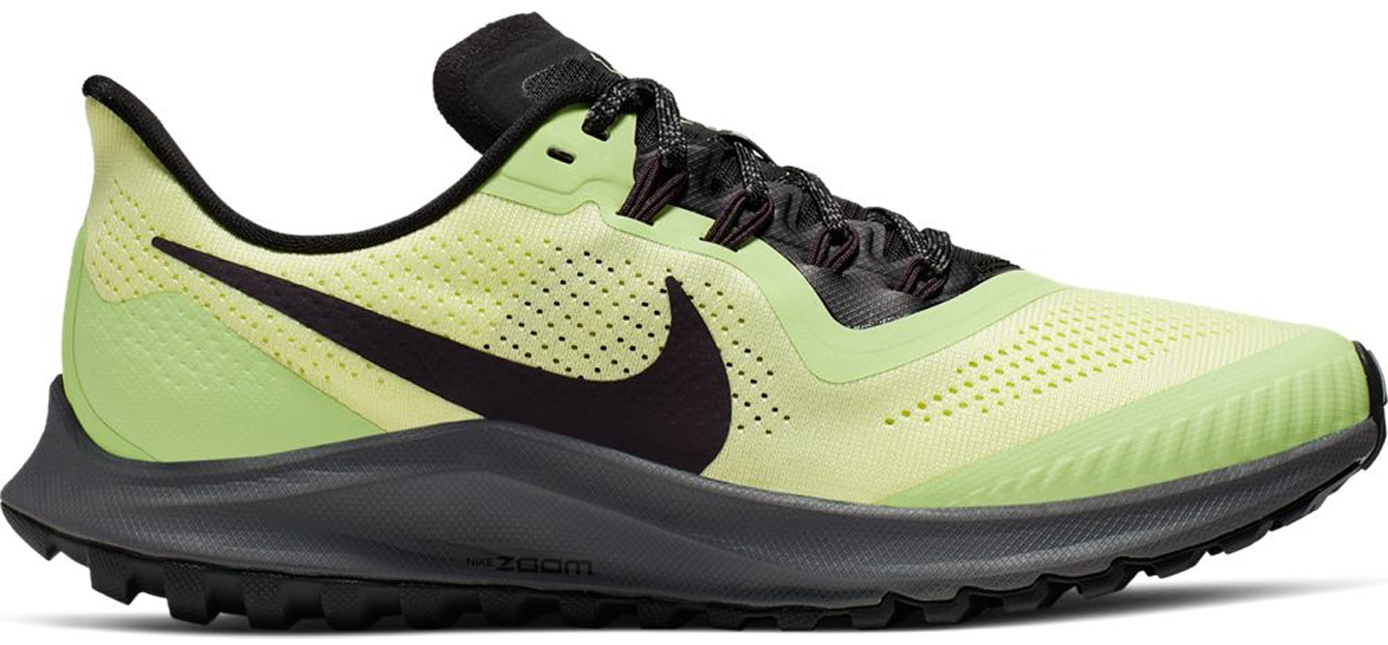 Air Zoom Pegasus 36 Trail Luminous Green (W) in Luminous GreenBlack Lab Green Burgundy Ash
