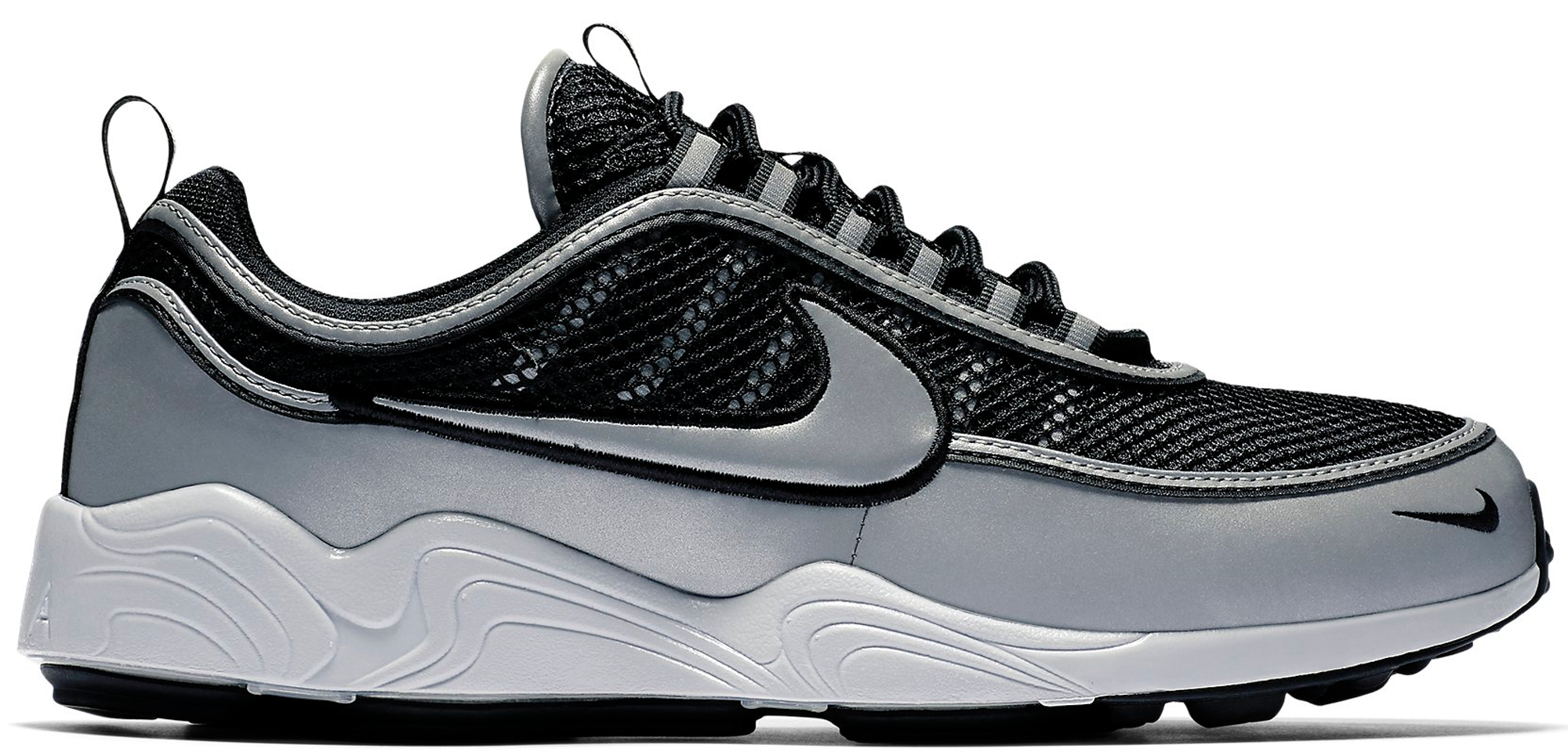 Nike Air Zoom Spiridon 16 Black Silver