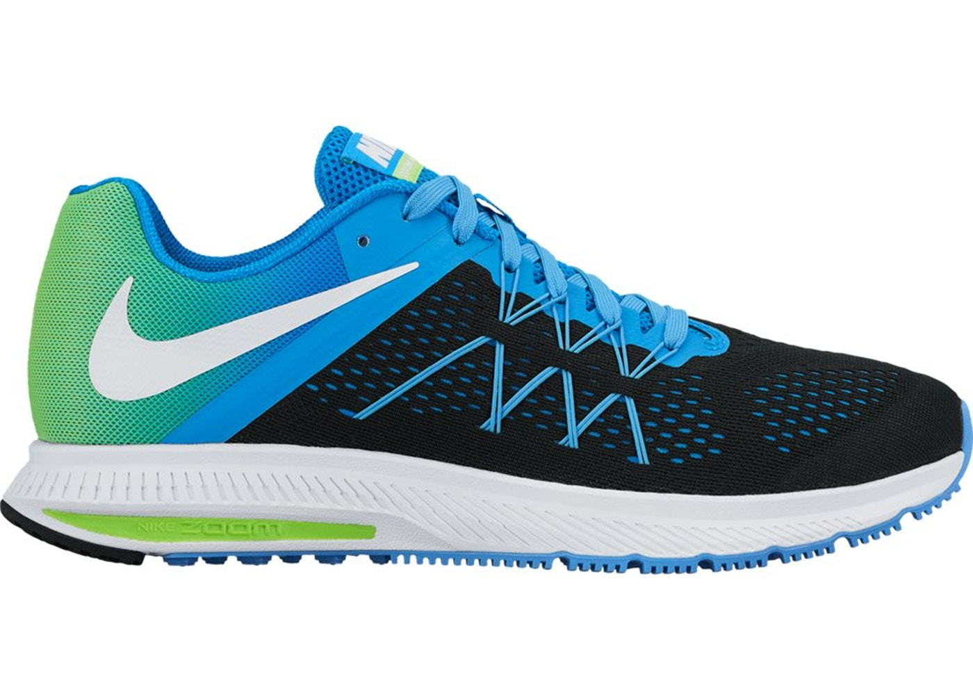 ee2d1bcaa4f8 Sell. or Ask. Size  12. View All Bids. Air Zoom Winflo 3 Black Photo Blue