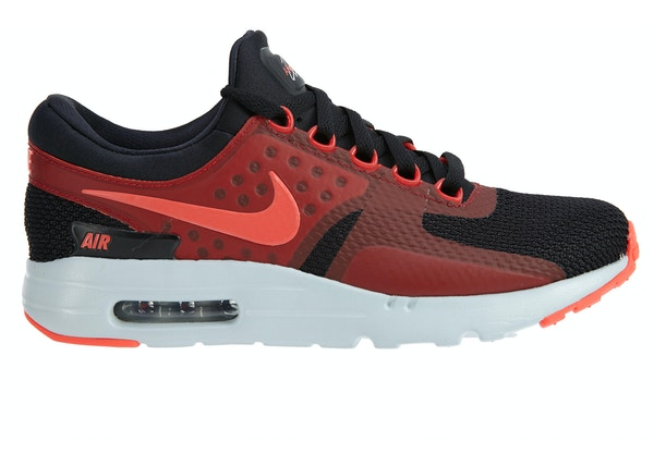 best sneakers 20c37 e6246 Nike Ari Max Zero Essential Black Bright Crimson Gym Red - 876070-007
