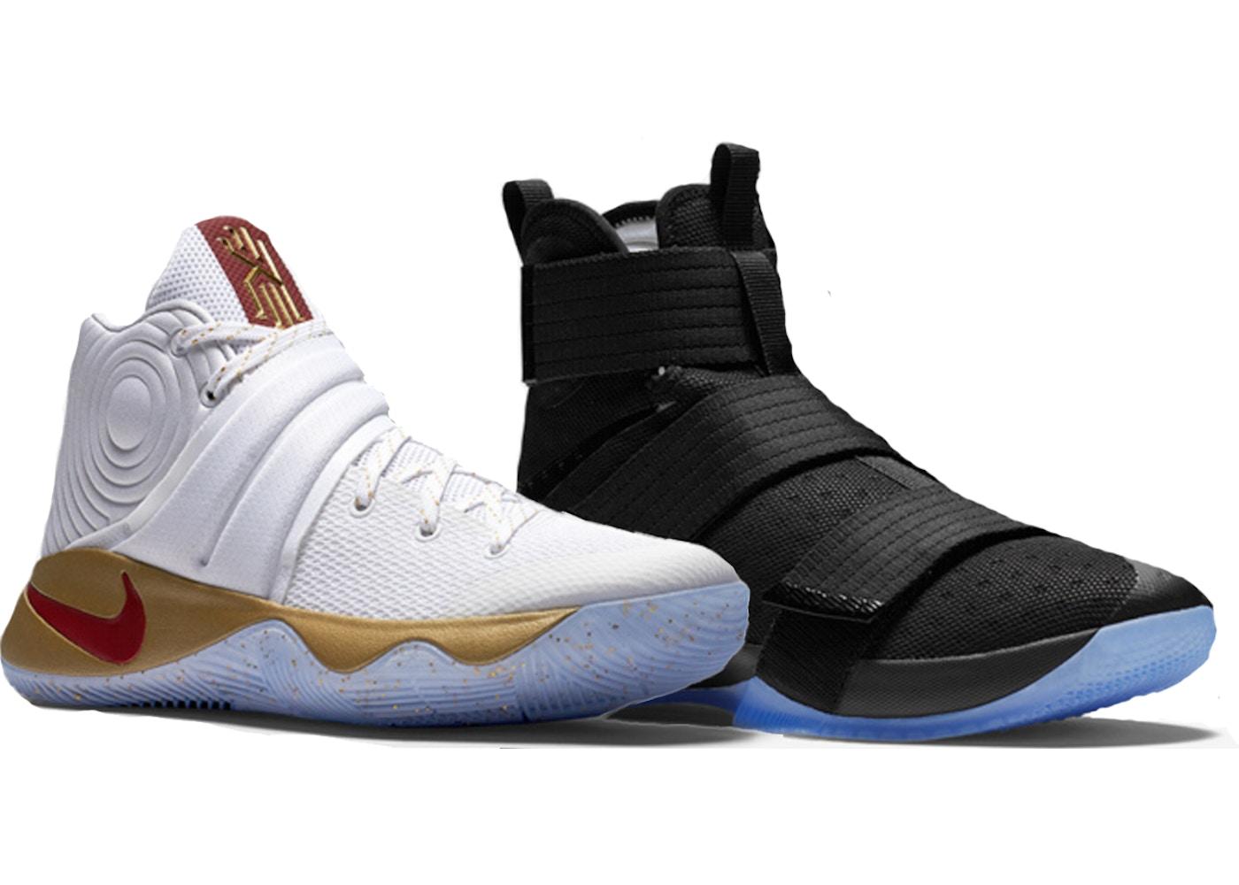 b1da85651f71 Nike Basketball LeBron Kyrie Four Wins Game 3 Homecoming Championship Pack