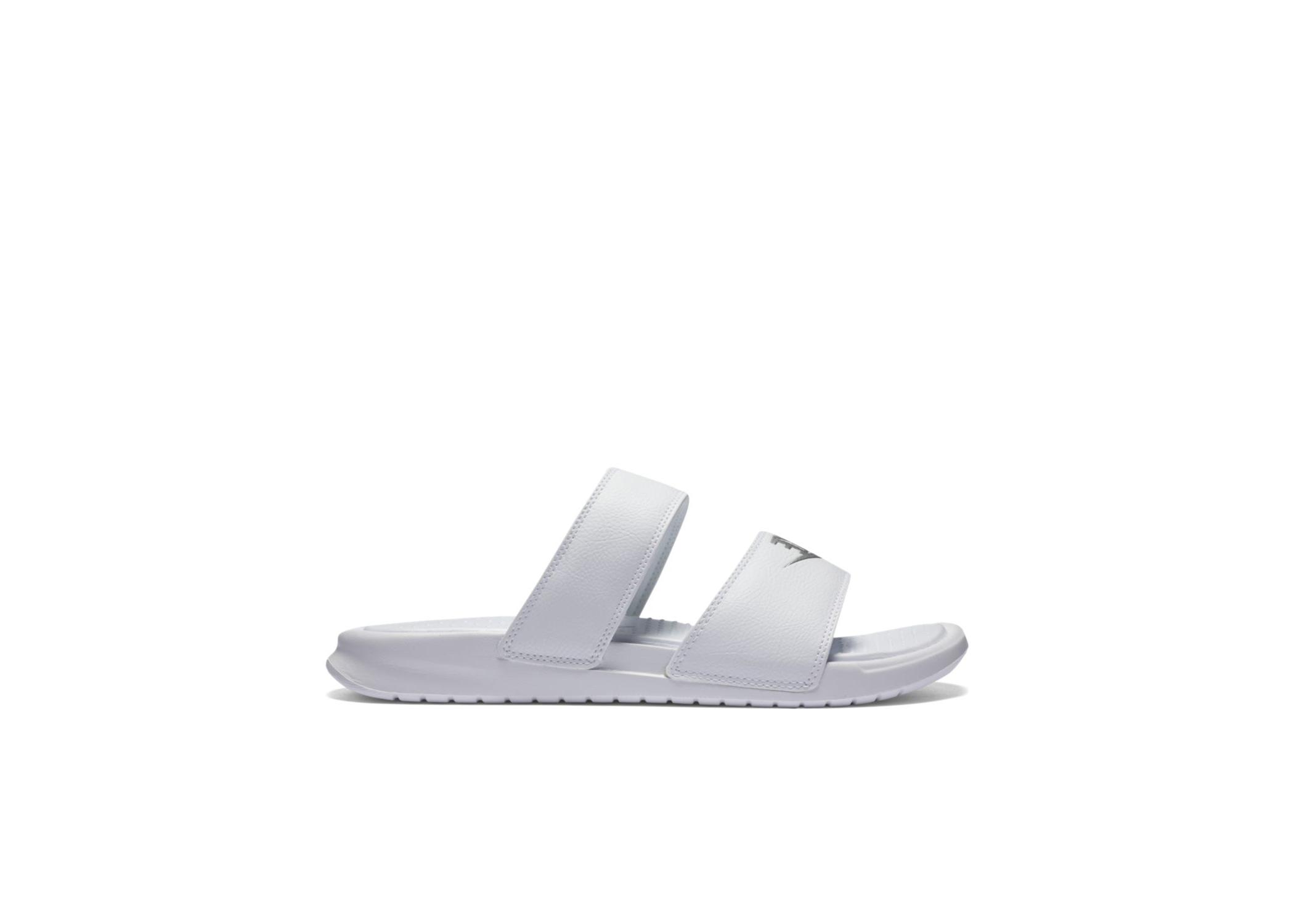 Nike Benassi Duo Ultra White Metallic