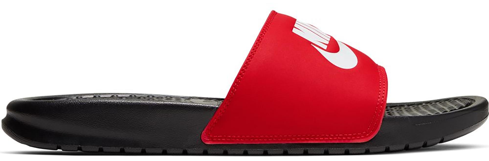 Nike Benassi JDI Black White Red