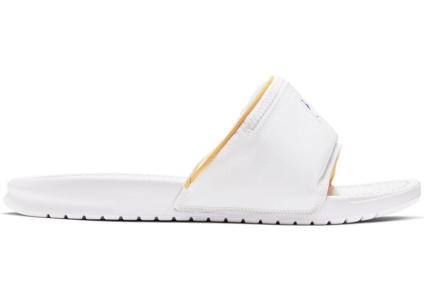 muy agradable Cromático Cap  Nike Benassi JDI Fanny Pack White Topaz Gold - CJ0604-100