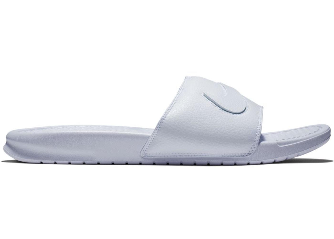 21deb2dda55 Nike Benassi JDI Swoosh Pack White - AQ8614-100