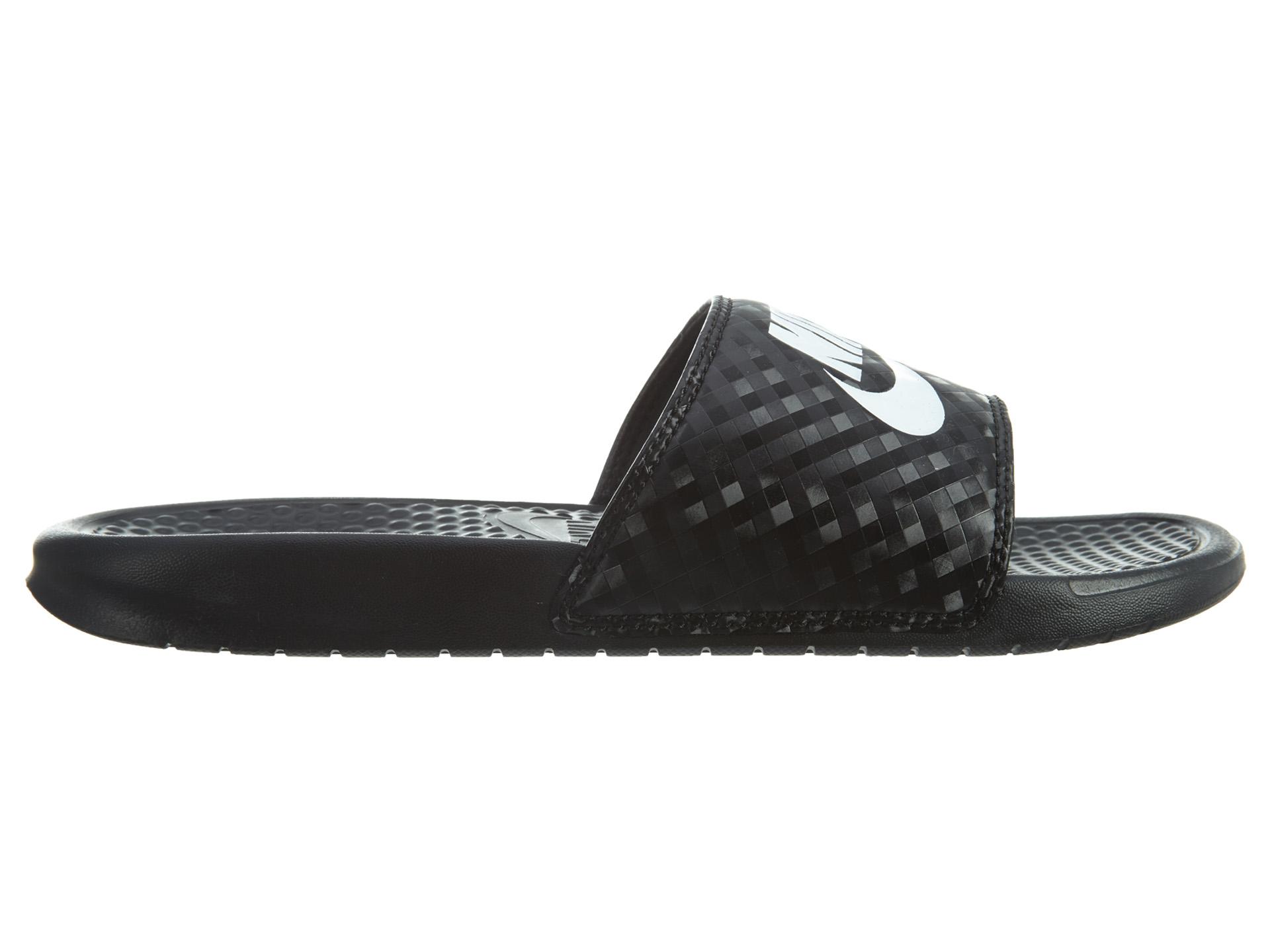 Nike Benassi Jdi Black White (W