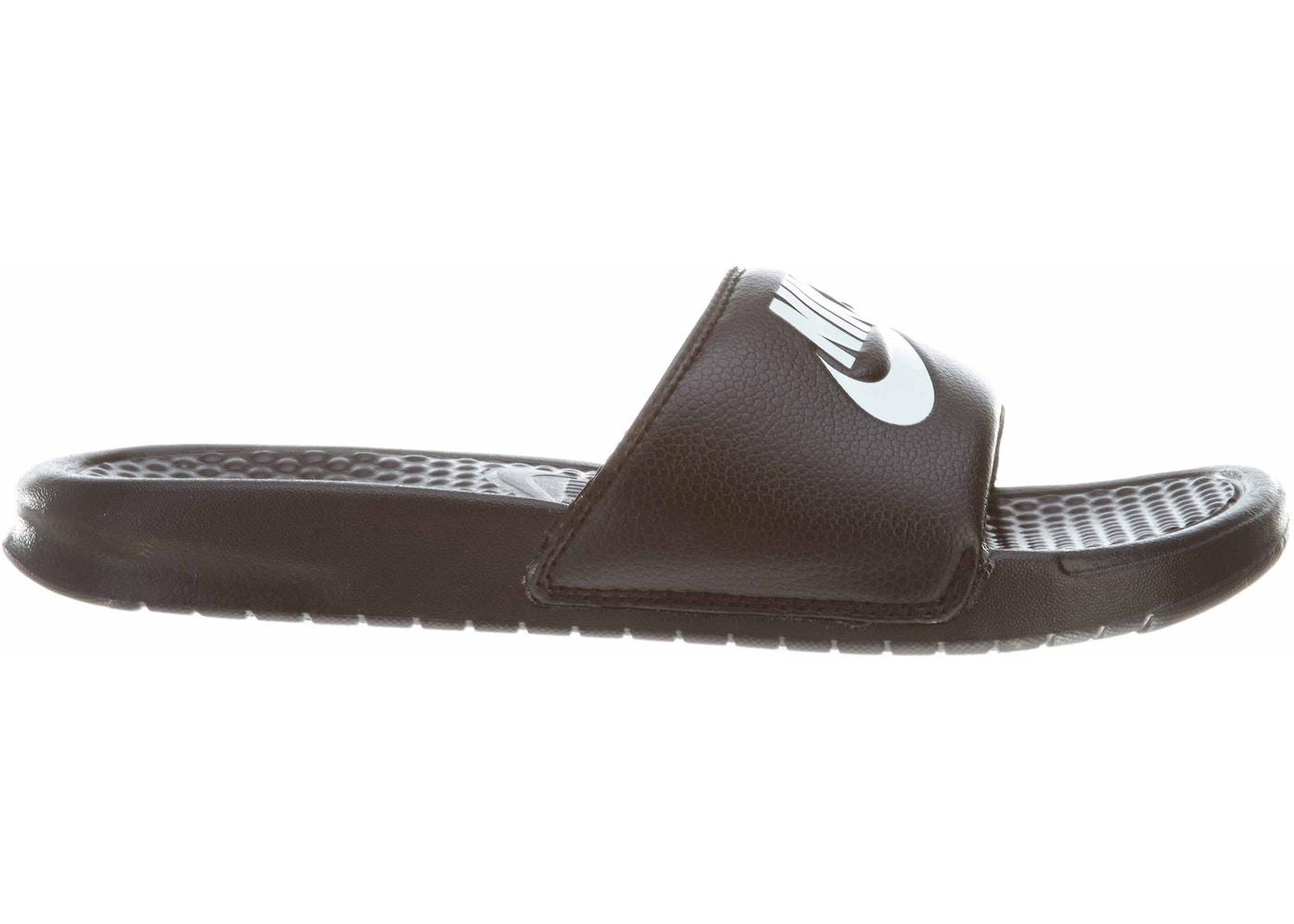 75fab36fe469 Nike Benassi Jdi Black White - 343880-090