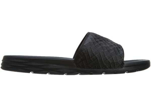 203e350de900c1 Nike Benassi Solarsoft Slide 2 Black Anthracite - 705474-091