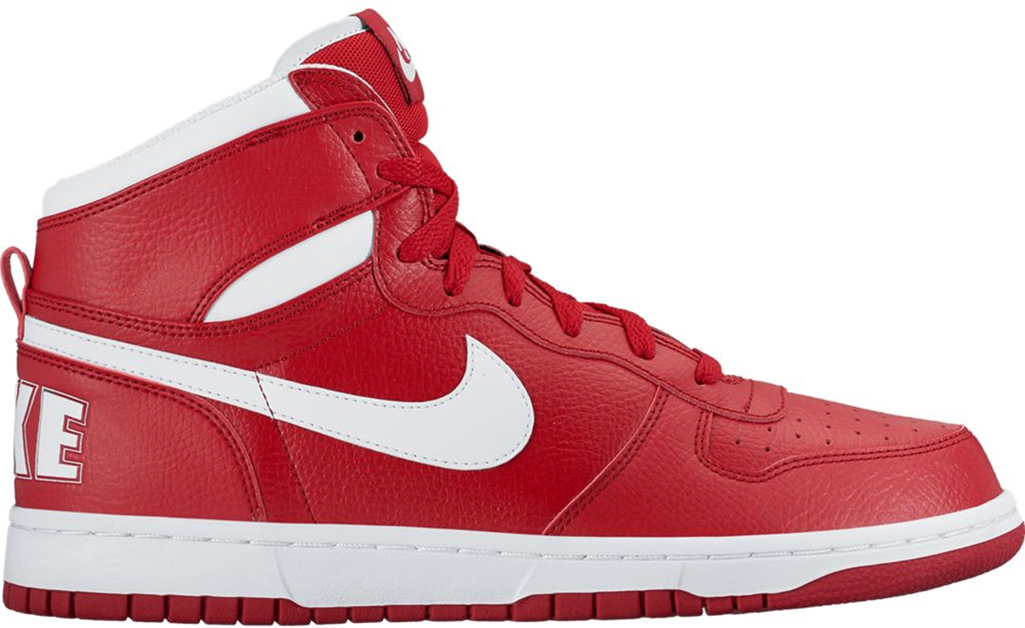 Nike Big Nike High Gym Red White