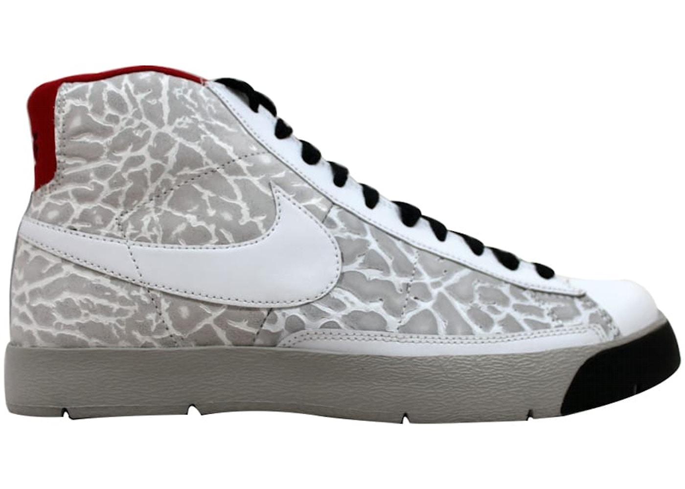 quality design f66ee 77f39 Nike Blazer Hi Premium White/White-Granite-Black