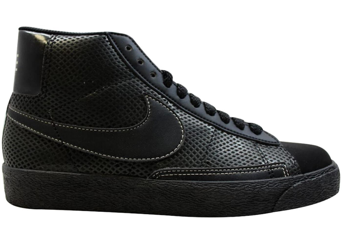 48aeb590 Nike Blazer High Black/Black-White - 315877-002