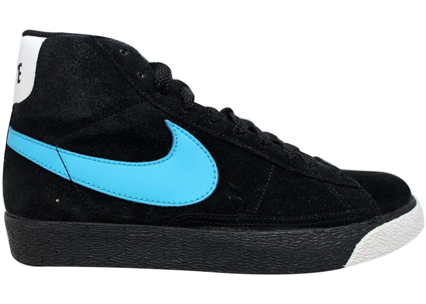 size 40 04c10 6f090 Nike Blazer High Black/Vivid Blue-White