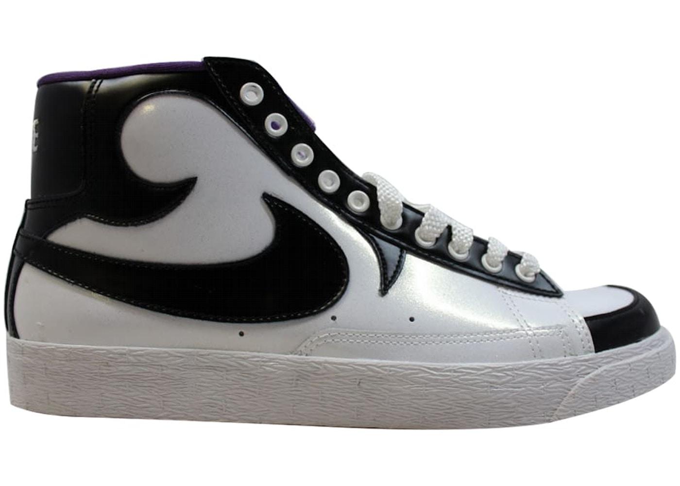 hot sale online 152cb cc753 Nike Blazer High White/Black-Club Purple