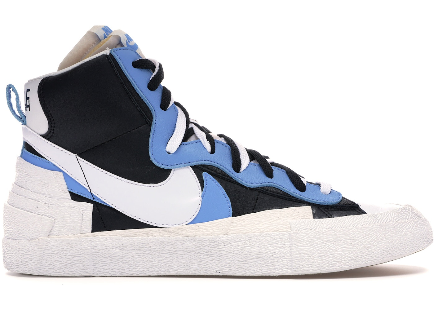 wholesale dealer 78e22 3f4d0 Nike Blazer High sacai White Black Legend Blue