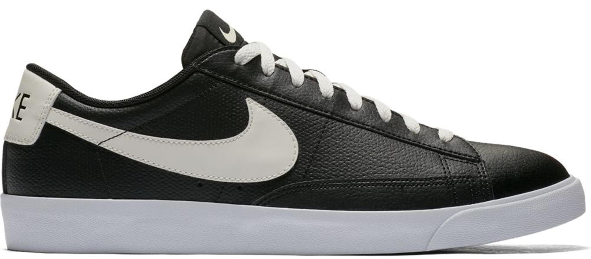 Nike Blazer Low Leather Black Sail