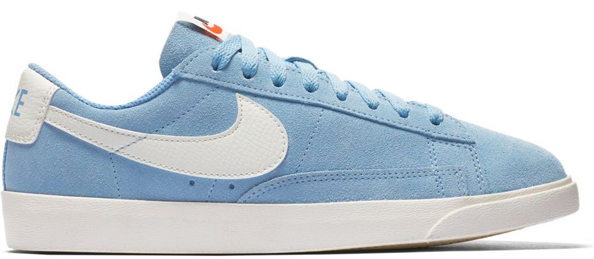 Nike Blazer Low Leche Blue (W) - AA3962-404