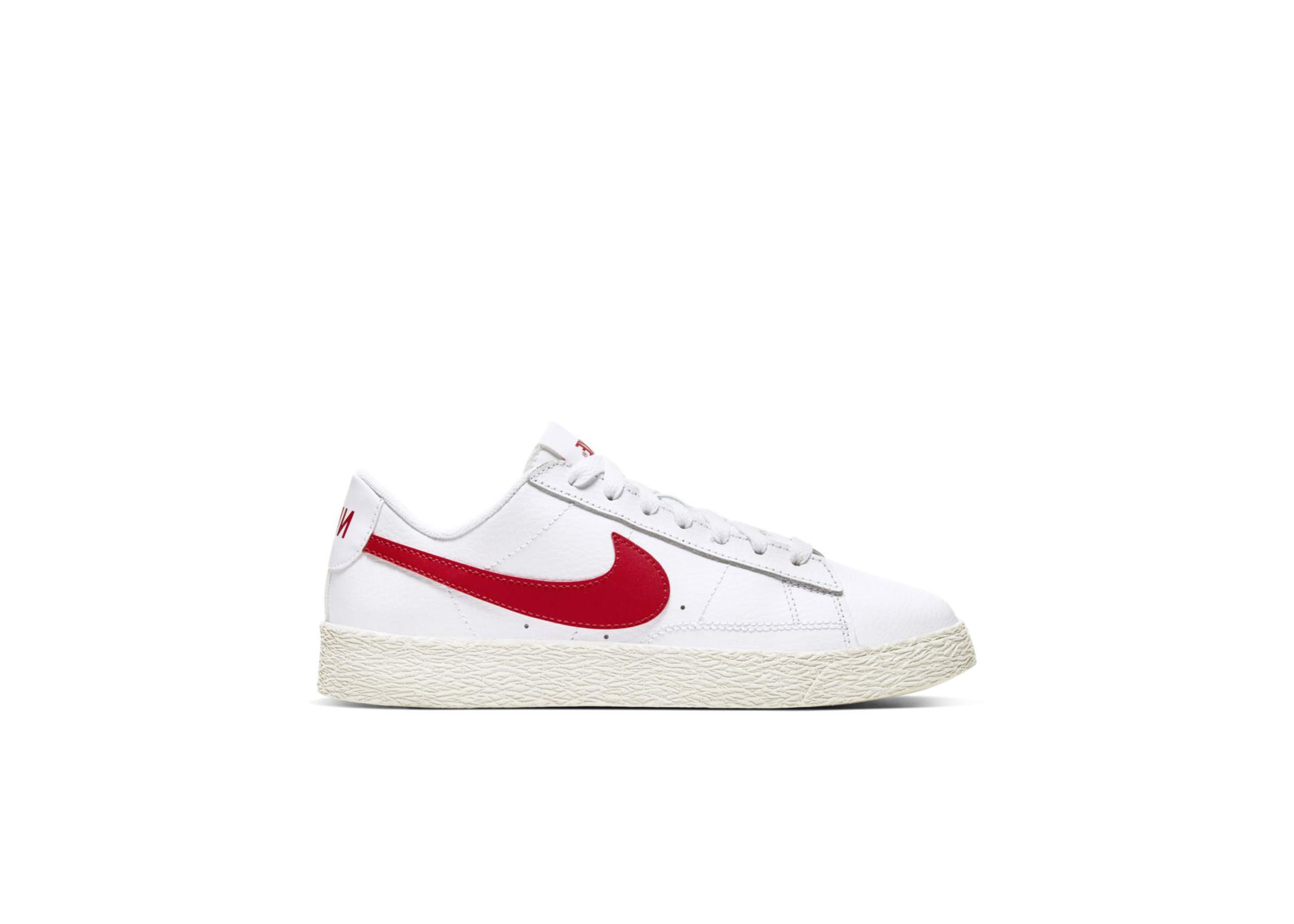 Nike Blazer Low White University Red (GS)