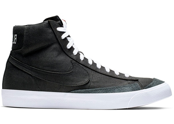 Nike Blazer Mid 77 Vintage Black Canvas CD8238 001