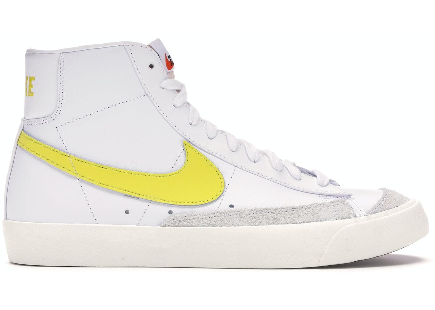 empezar Autorización para justificar  Nike Blazer Mid 77 Vintage Optic Yellow - BQ6806-101