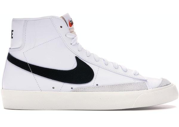 temperament shoes price reduced best service Nike Blazer Mid 77 Vintage White Black