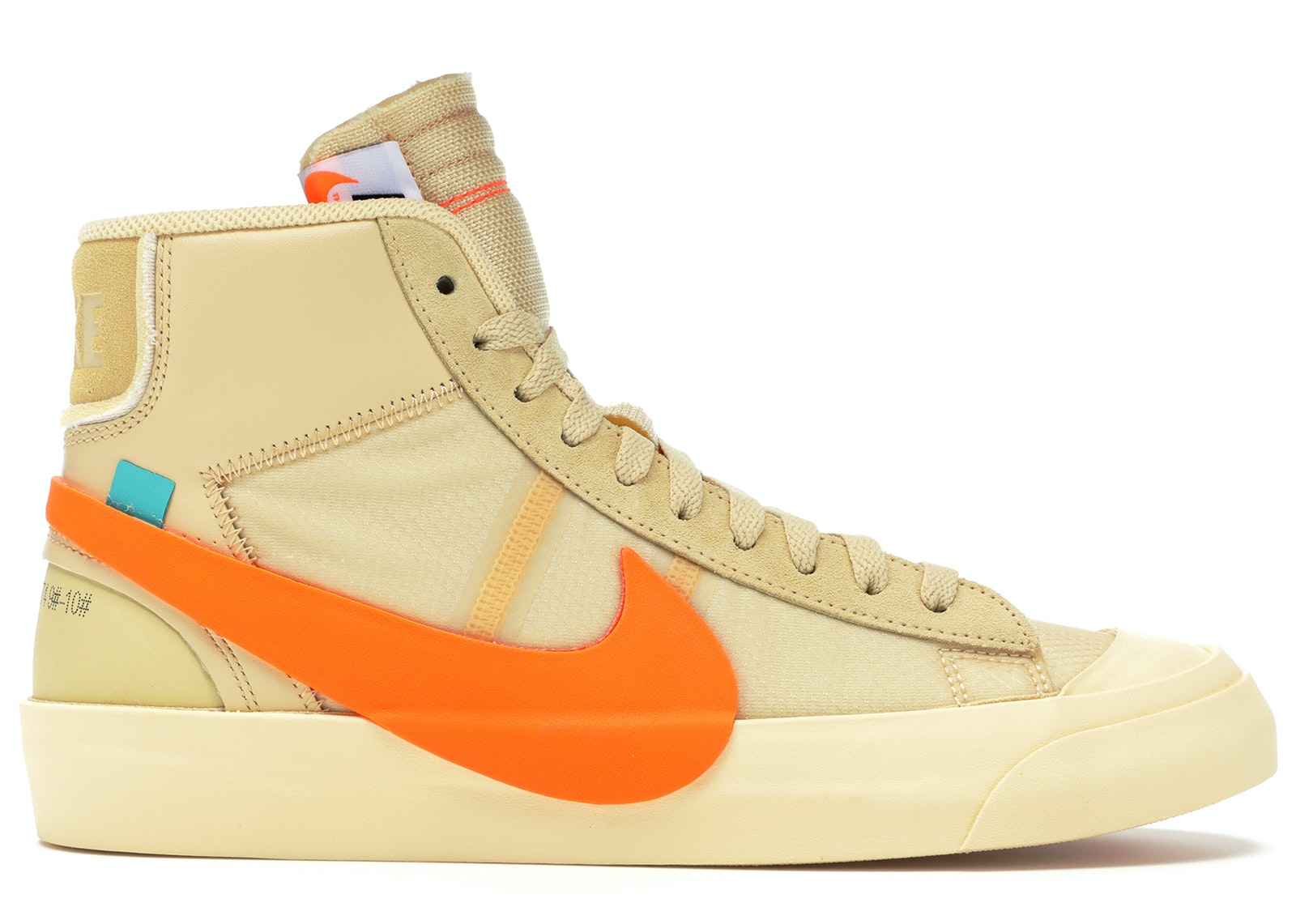 cccc0a469b4eb Nike Blazer Mid Off-White All Hallow\u0027s Eve - AA3832-700;