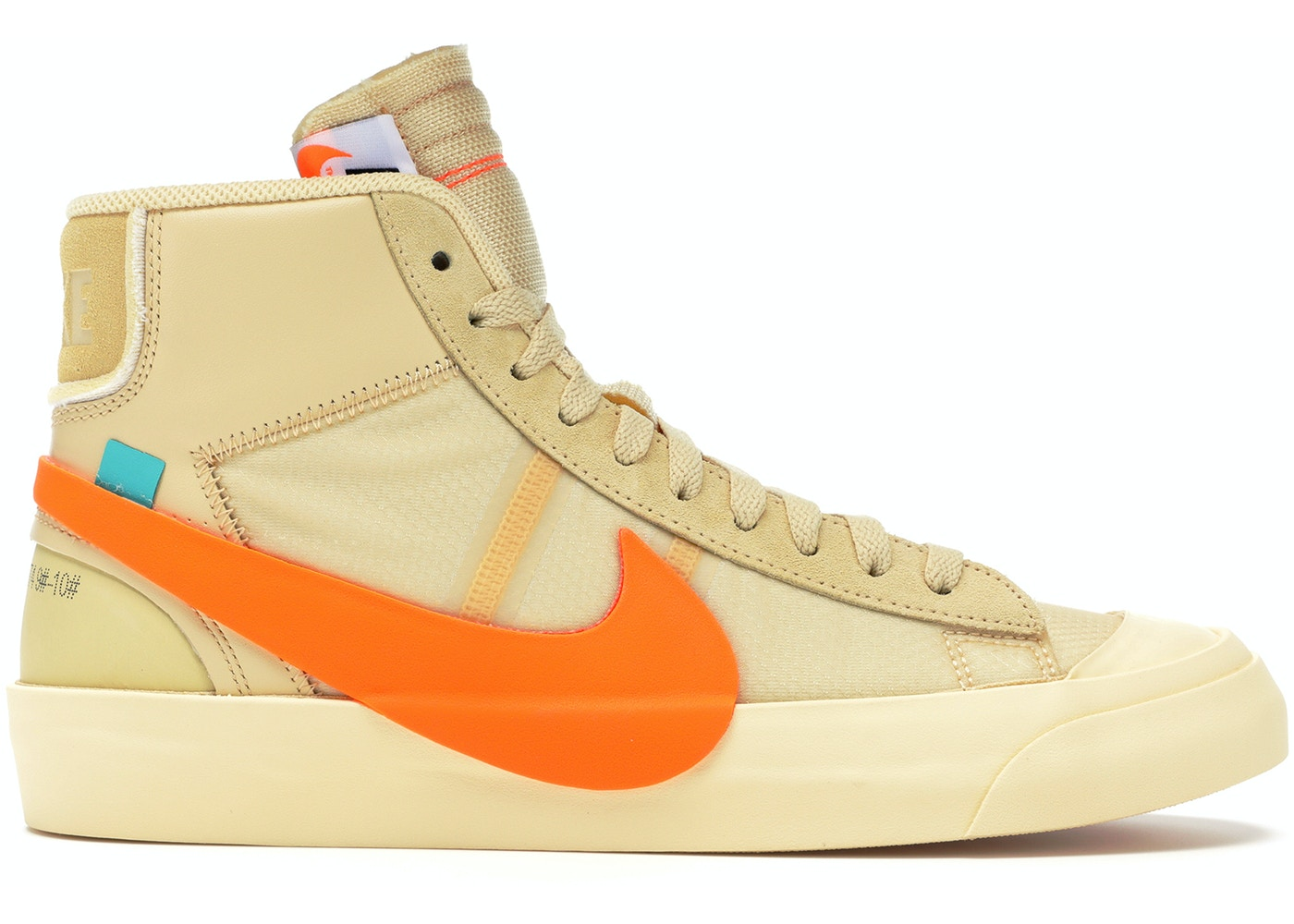 60dd03ebb45e Nike Blazer Mid Off-White All Hallow s Eve - AA3832-700