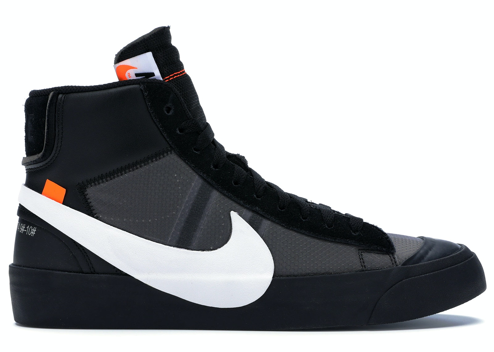 half off cee65 dfd9a Nike Blazer Mid Off-White Grim Reaper - AA3832-001