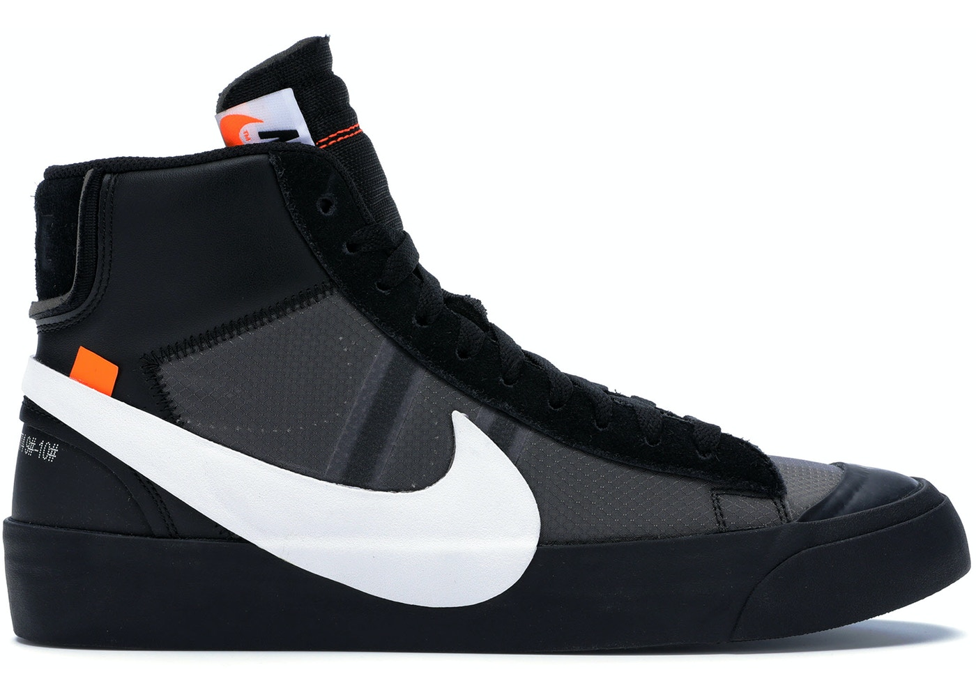 48856fcc Nike Blazer Mid Off-White Grim Reaper - AA3832-001