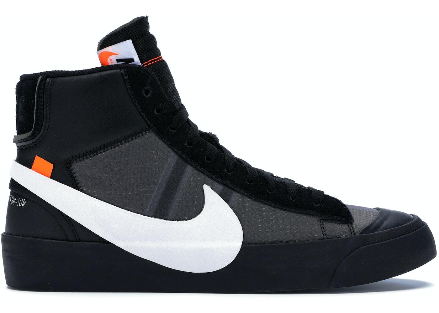 quattro volte carta Soddisfare  Nike Blazer Mid Off-White Grim Reaper - AA3832-001