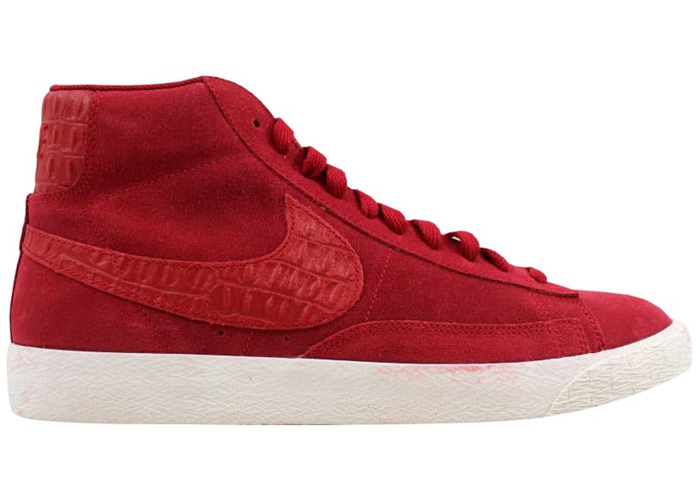 exquisite design autumn shoes sale online Nike Blazer Mid Premium Vintage Gym Red/Gym Red-Sail