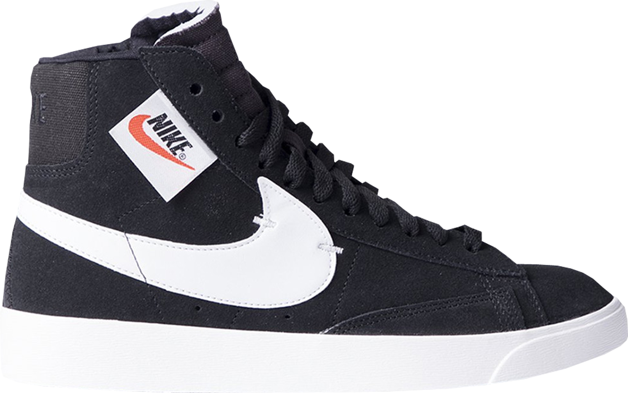 Nike Blazer Mid Rebel Black White (W)