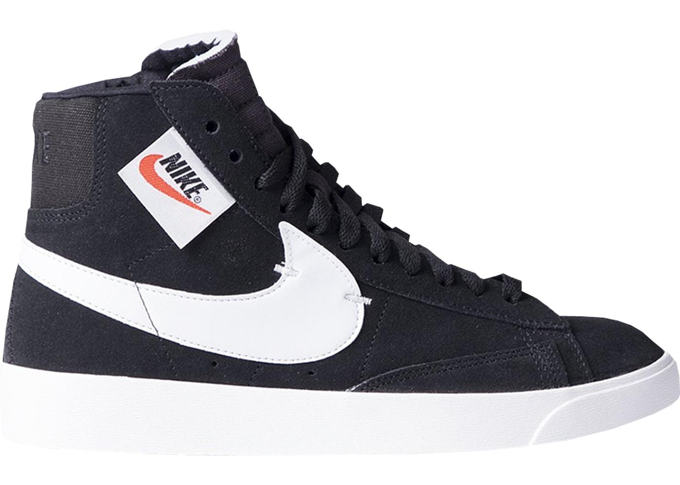 Nike Blazer Mid Rebel Black White (W)