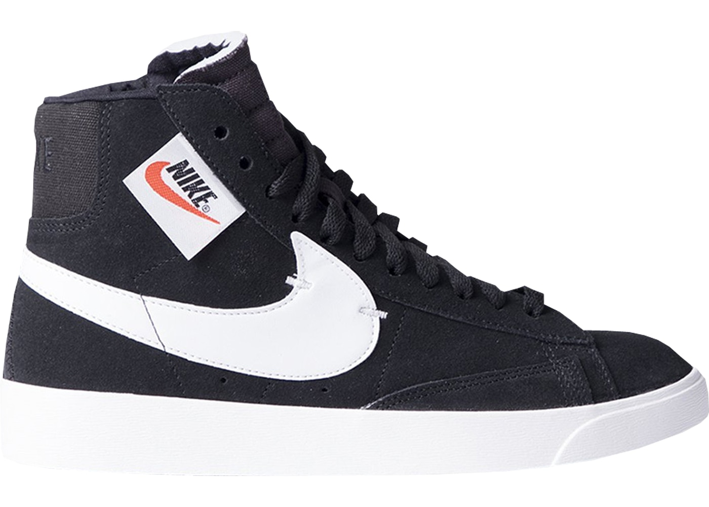 low priced 60399 f2c14 Nike Blazer Mid Rebel Black White (W) - BQ4022-001