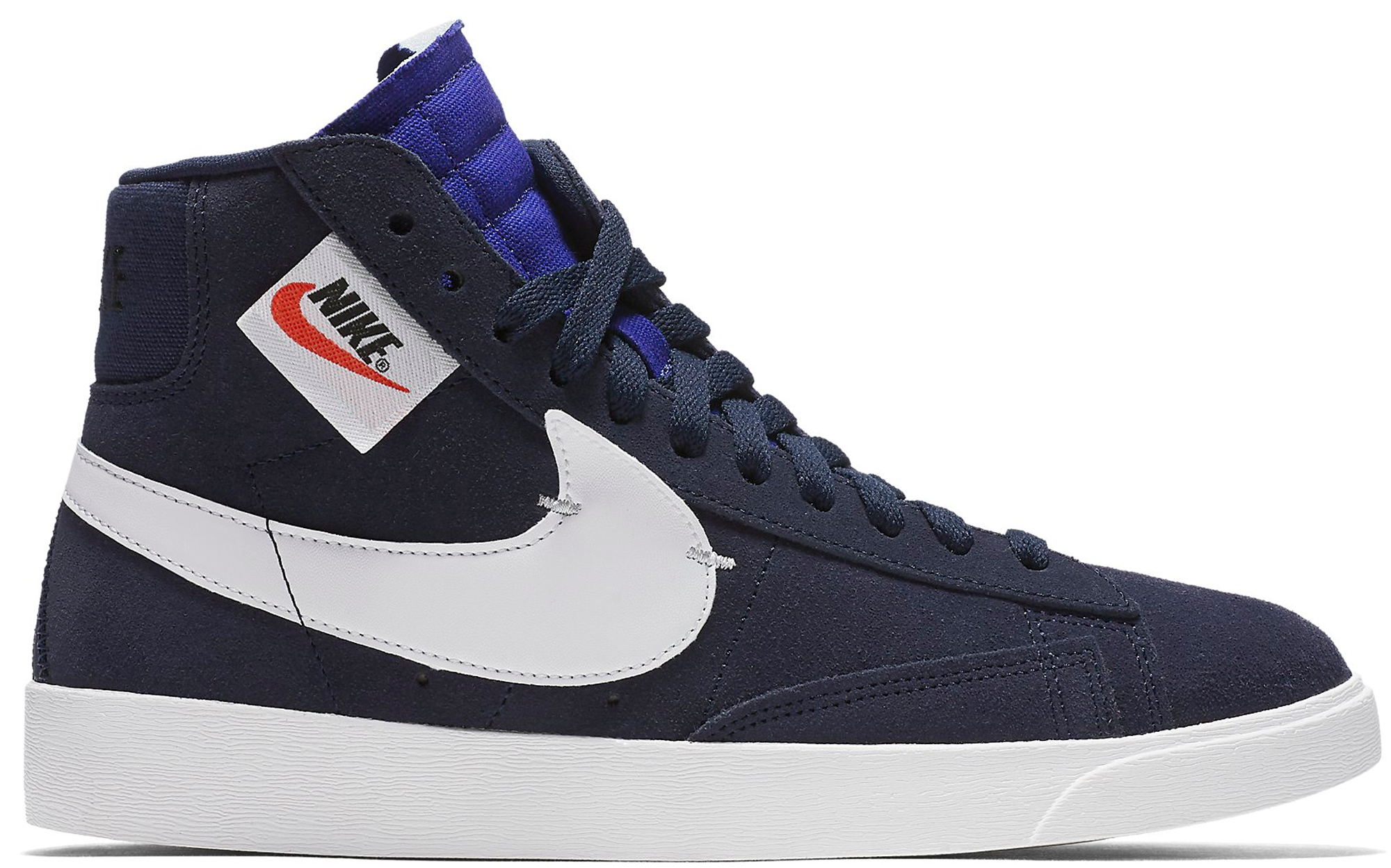 Nike Blazer Mid Rebel Blackened Blue (W)