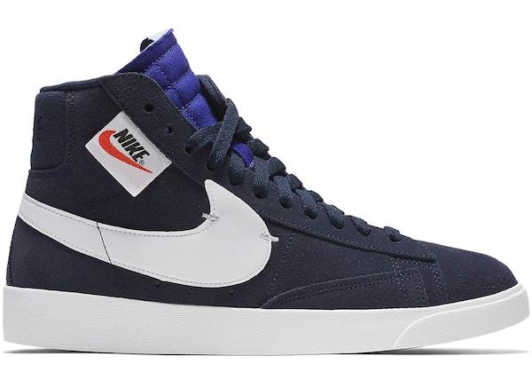 competitive price edf59 3ea77 Nike Blazer Mid Rebel Blackened Blue (W) - BQ4022-401