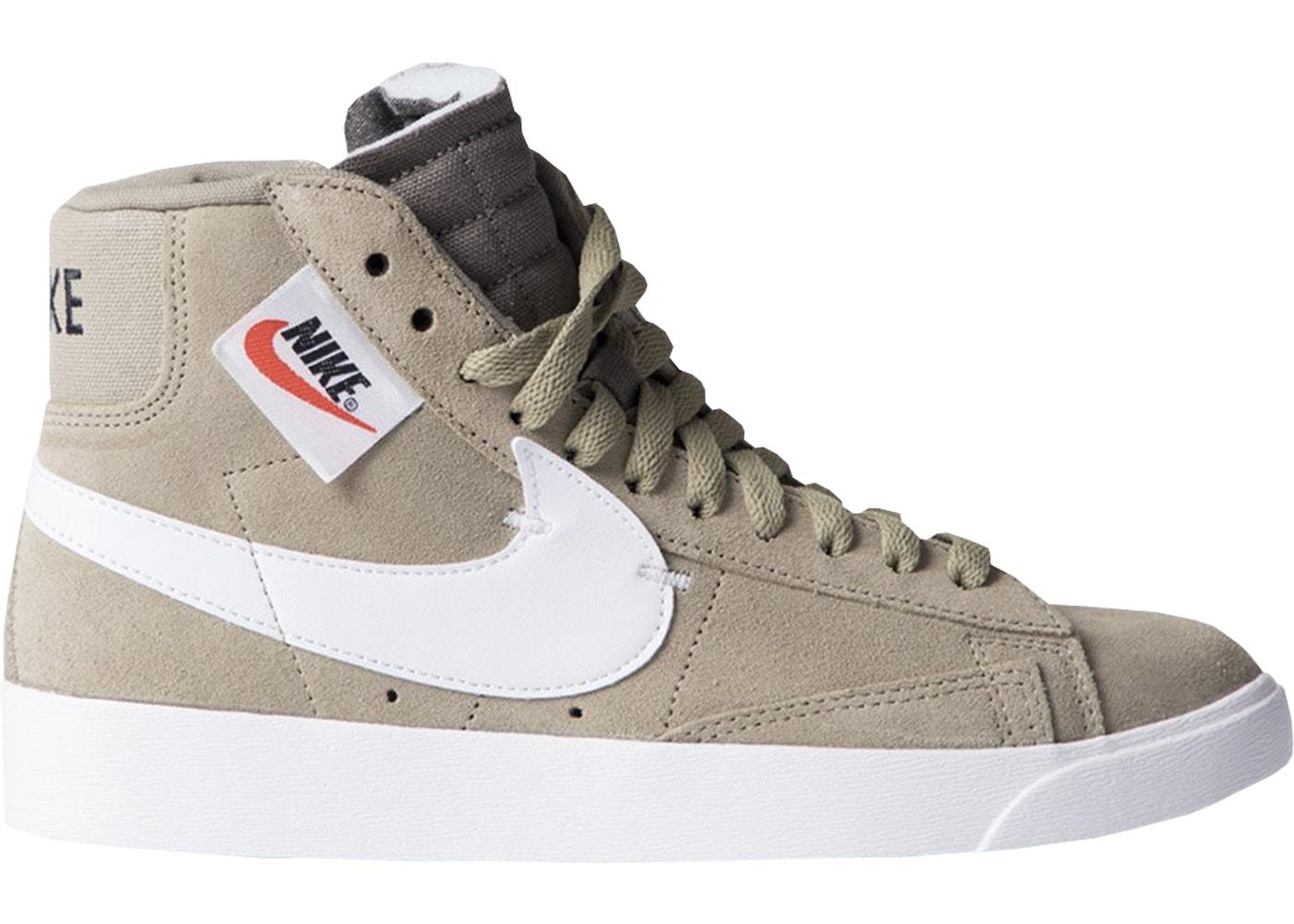 Nike Blazer Mid Rebel Neutral Olive (W) - BQ4022-201