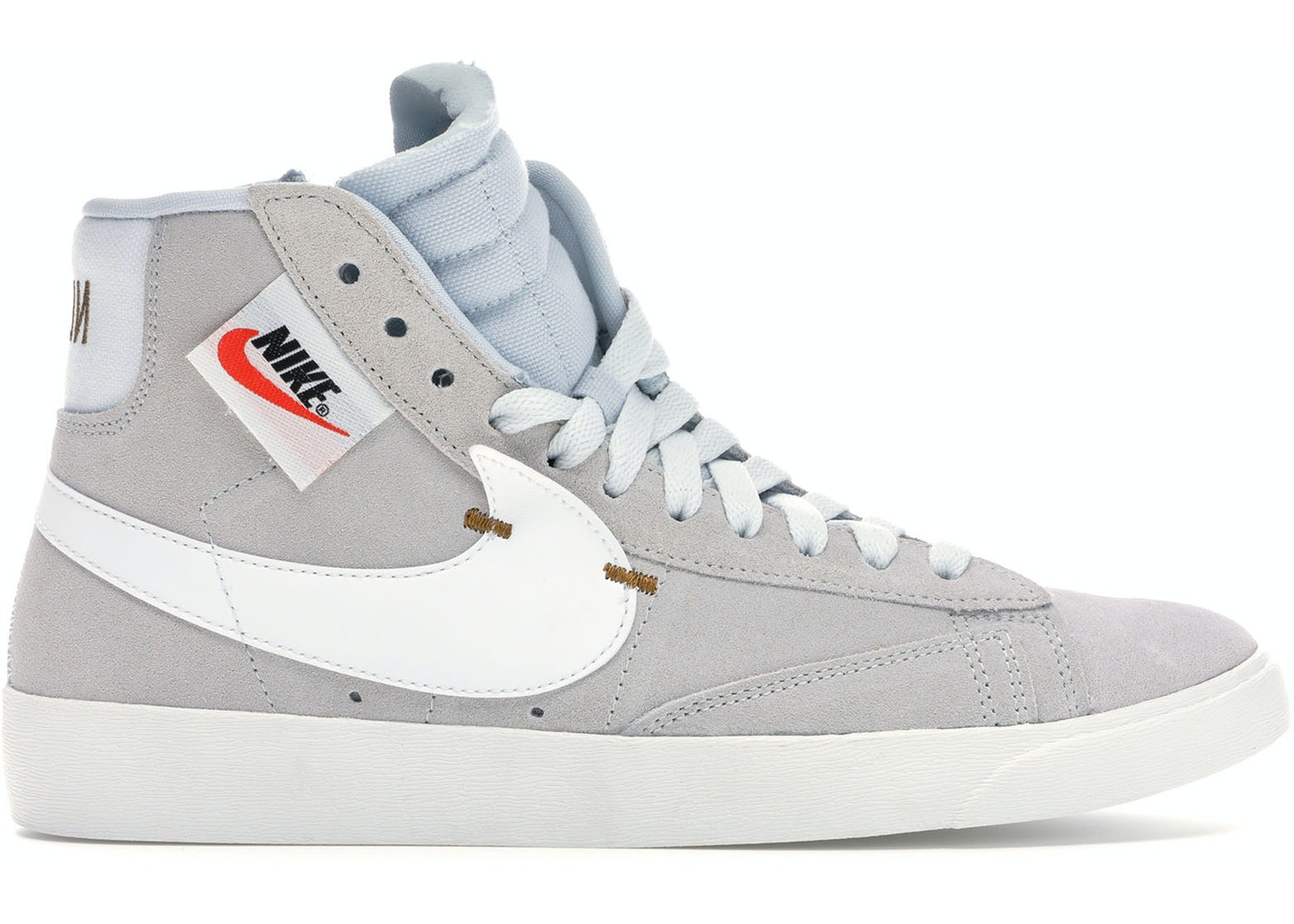 Arqueológico Elaborar El respeto  Nike Blazer Mid Rebel Off White (W) - BQ4022-101