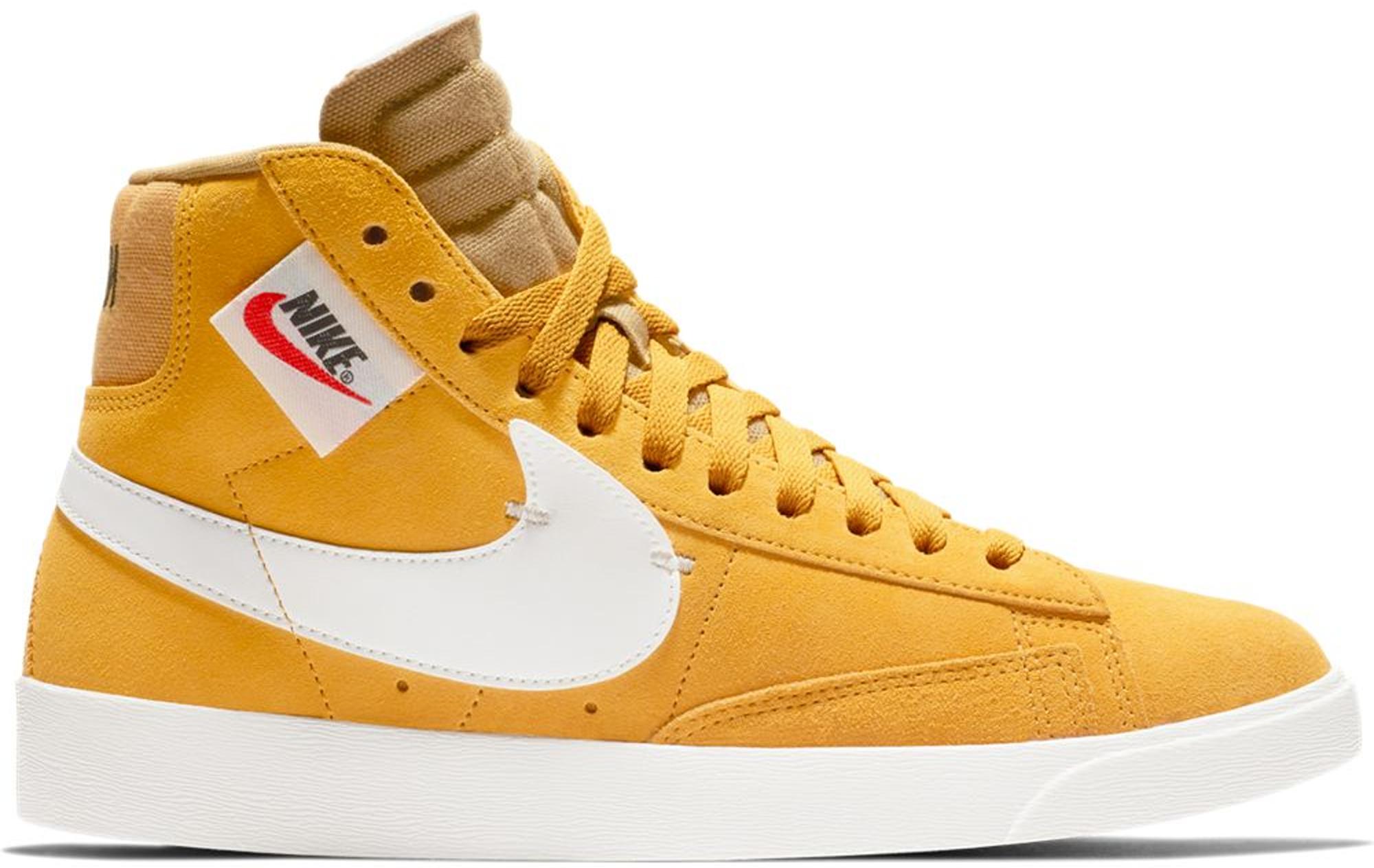 Nike Blazer Mid Rebel Yellow Ochre (W