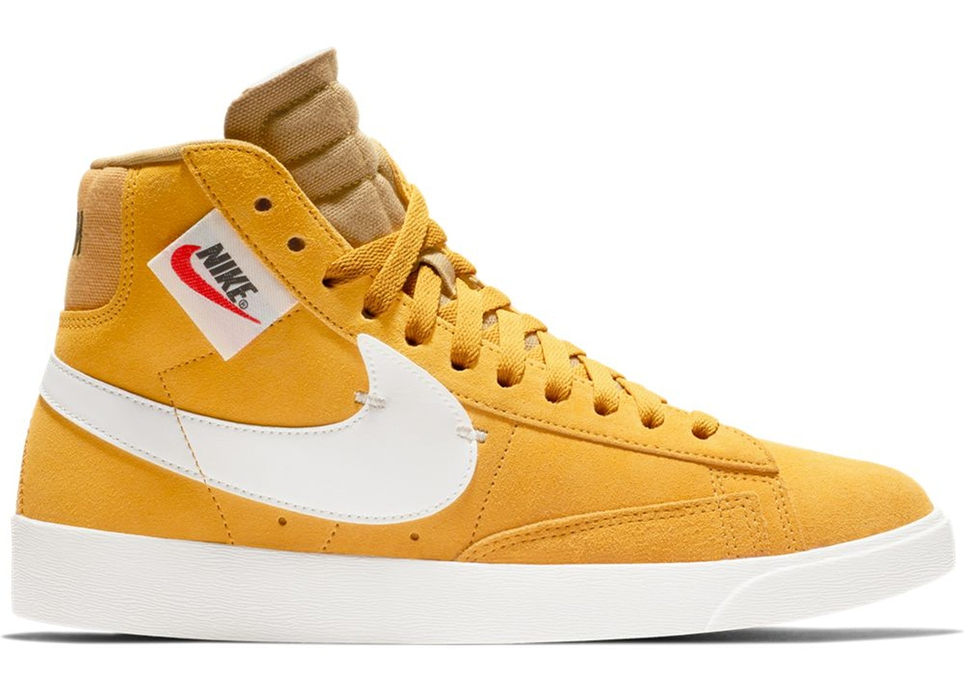 Perth Blackborough oasis pérdida  Nike Blazer Mid Rebel Yellow Ochre (W) - BQ4022-700
