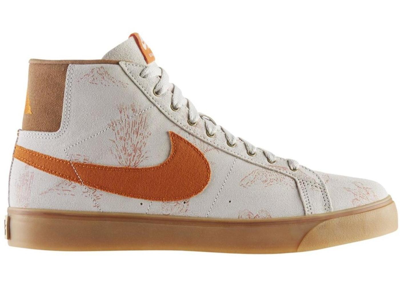 Nike SB Blazer. Canvas Light Brown