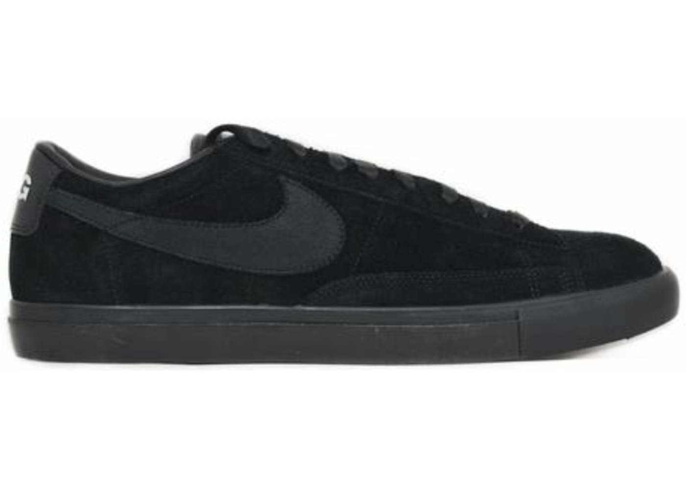 official photos dce96 70294 Nike SB Blazer Low Comme des Garcons Black