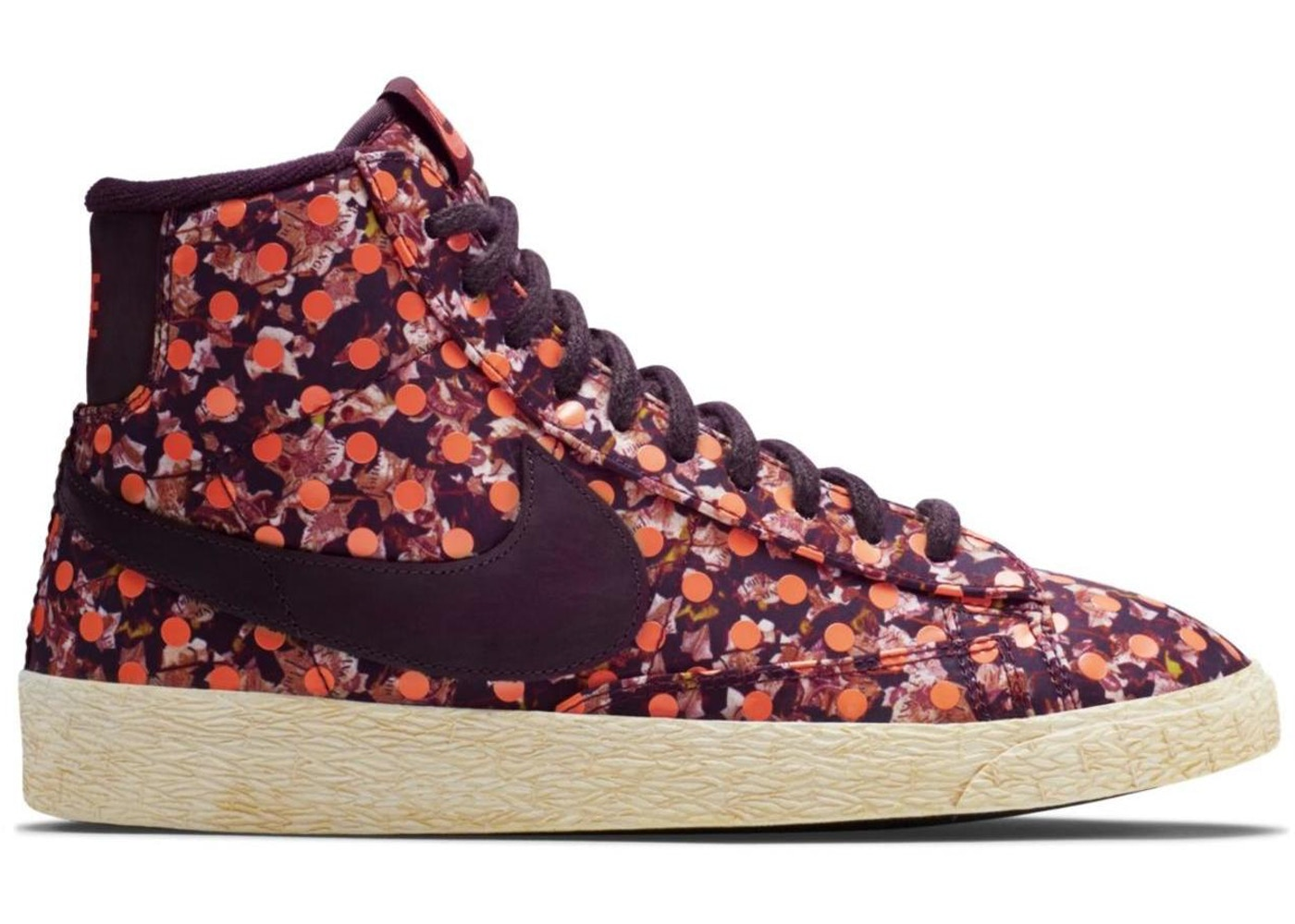 hot sale online bf447 c2710 Nike SB Blazer Liberty Burgundy (GS) - 529037-600