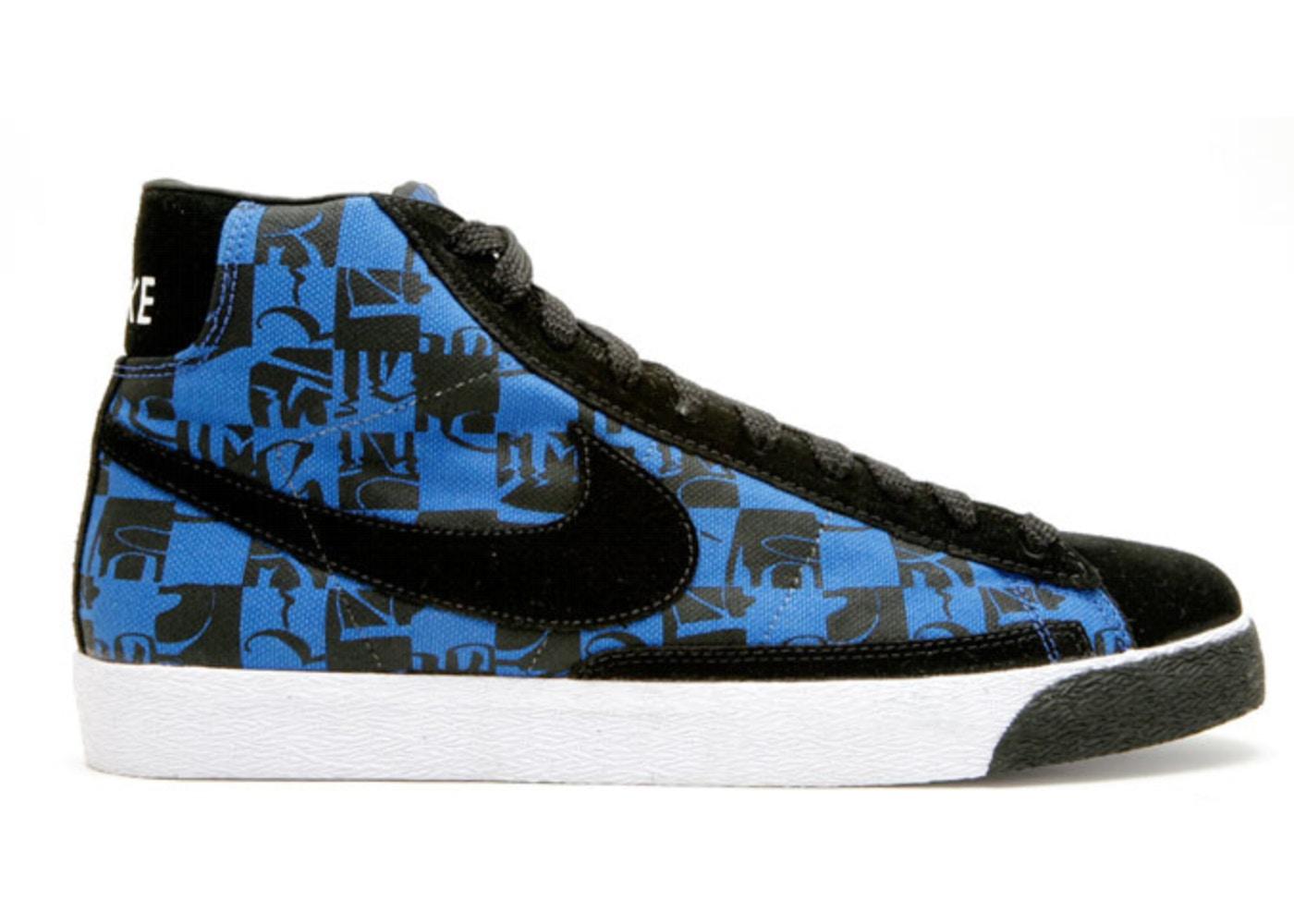 promo code 765a5 fad7a Nike SB Blazer Stussy Neighborhood Blue